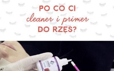 Czy warto używać cleanera i primera do rzęs?