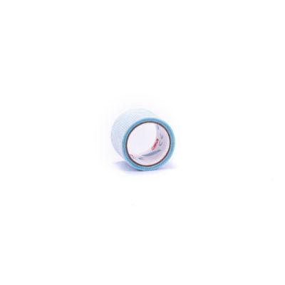 Taśma silikonowa niebieska krótka