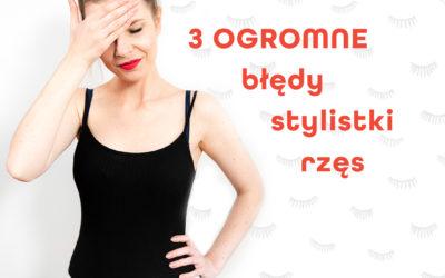 Monika Grzelak: 3 błędy, które popełniłam w swojej karierze jako stylistka rzęs