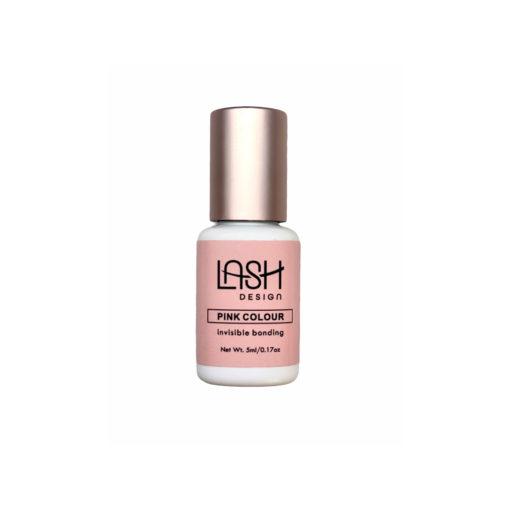 Klej Lash Pink - różowy, przezroczysty po utwardzeniu
